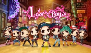SNSD - I Got A Boy - Chibi version by YoonAddictSoshi