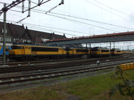 a group of  NS 1700 by damenster