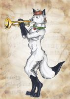 The Trumpeter by StarlightsMarti