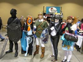 Zelda group cosplay by L-Angelo15