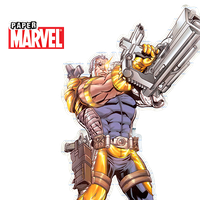 [Marvel Paper] Cable by TeamNeko