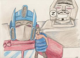 A visit to Cybertron by not-sure-yet