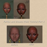 painting face tutorial 4 by fairiesndreams