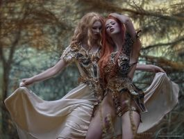 Woodland Warriors by Ophelia-Overdose