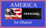 America supports Obama! by Winter-Phantom