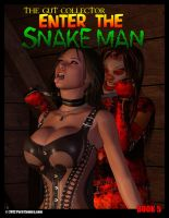 ENTER THE SNAKE MAN 5 AVAILABLE NOW! by PerilComics