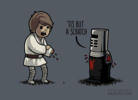 'Tis but a scratch by Naolito