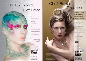 Chef Rubber Ad by Paindancer