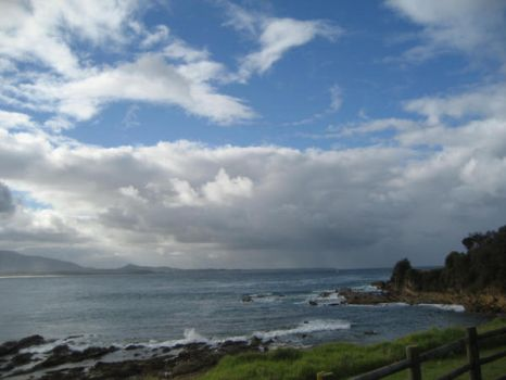 Blue Skies over Bermagui NSW by talespin