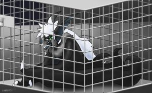 --Caged-- by Metal-CosxArt