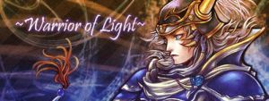 Warrior of Light ~ Style ~ (Easy signature) by SpYrO100