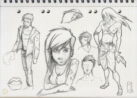 sketches 3 by Pdk-almeida