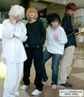 Death note crew of NY yo by Kayia