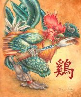 Year of the Rooster by Quelyntr