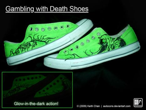 Gambling with Death Shoes by Autocons