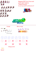 Protocross exe 6 Sprite sheet by TheRedThunderX