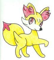 Fennekin Fire Starter For Generation 6-Traditional by Destiny-The-Hedgimon