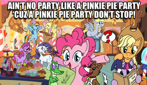 Pinkie Pie Party Poster by FractiousLemon