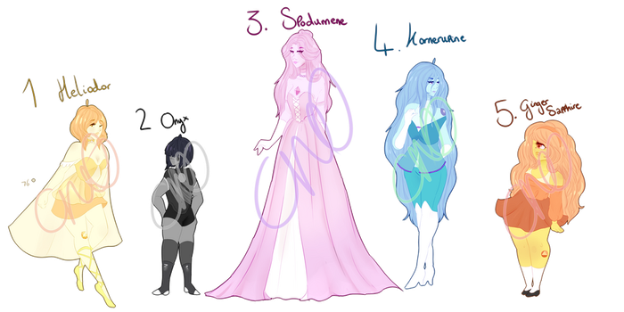 [OTA-OPEN] Gem adopts 5 by Cristal-Tears