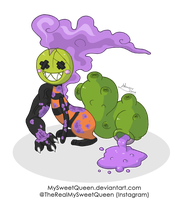 [Sold] Halloween Adoptable: Veneno by MySweetQueen