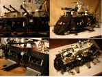 Lego 'iron clad' Airship by Tristikov