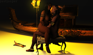 Love Under the Qun: Naked Diplomacy by Just-Jasper
