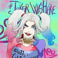 JokerWasHere - Harley Quinn from Suicide Squad by Giorgio-Amatteis