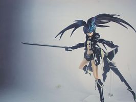 Black Rock Shooter by 4z3rSh0ut4r0u