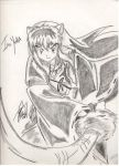 InuYasha Sketchie by TheInuyashaClub