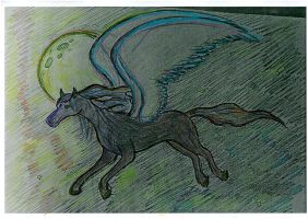 For Volchitsa Pegasus Colored by PowerfulStardust