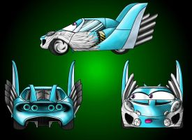 CARS Flying Lotus Complete by saiyan-frost