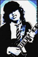 Angus Young by Gayou
