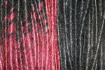 Black red transitional dreads by MadeByJanine