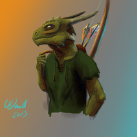 Argonian derp by duh-veed