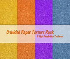 Crinkled Paper Texture Pack by powerpuffjazz