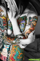 More Tattoos by OMyGodZombies