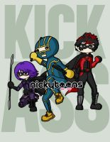 Kick-Ass by NickyToons