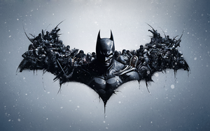 Batman: Arkham Origins Lithography - Mod by Gelosea