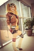 Bombshell Harley Quinn by Manda Cowled by MandaCowled