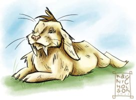 Saber-toothed Lop by Kat-Nicholson