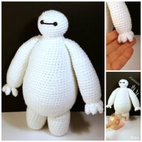 Big Hero 6 - Baymax - Amigurumi by SuniMam