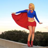 Supergirl: Ready for Take Off by MomoKurumi