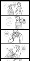 Makorra Scarf Comic by chocowaffle