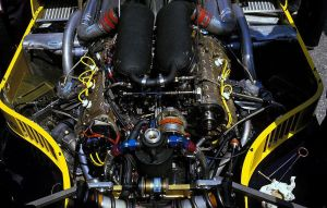 Renault EF15 engine (France 1985) by F1-history