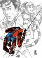Scarlet Spider Sketch by hyperjack08
