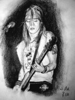 Axl Rose again by MetDeth