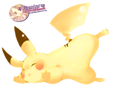 Pikachu Render by SophieRawwr