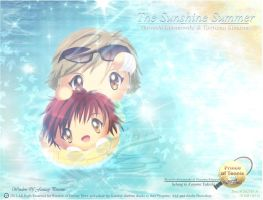 Shiraishi and Tooyama ~The Sunshine Summer~ by Kauthar-Sharbini