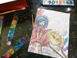 Should I discard it or finish it? Remilia/Flandre by chakupuchi