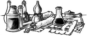 Potions and scrolls by artikid